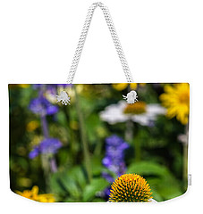 Weekender Tote Bag featuring the photograph May Flowers by Steven Sparks