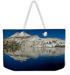 May Lake Panorama Weekender Tote Bag