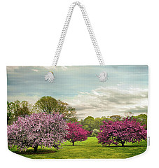 Weekender Tote Bag featuring the photograph May Meadow by Jessica Jenney