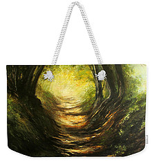 May Your Light Always Shine Weekender Tote Bag by Valerie Travers