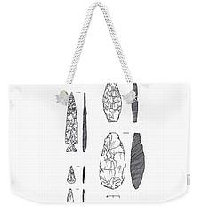 Maya Stone Tools Weekender Tote Bag