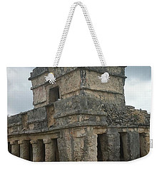 Mayan Stone Homes  Weekender Tote Bag