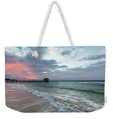 Mayan Sunrise Weekender Tote Bag by Dennis Hedberg