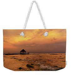 Mayan Sunset Weekender Tote Bag by Dennis Hedberg