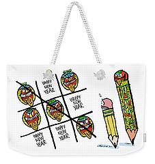 Mayan Tic Tac Toe Weekender Tote Bag