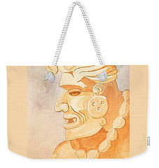Mayan Warrior Weekender Tote Bag