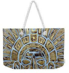 Mayan Warrior Weekender Tote Bag by J- J- Espinoza