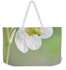 Mayapple Flower Weekender Tote Bag