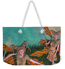 Maybe And Maybe Not 7236 Weekender Tote Bag by Betsy Knapp