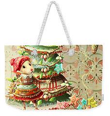Maybel Family Peace Weekender Tote Bag