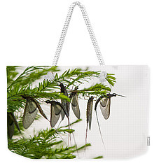 Mayfly Slumbers Weekender Tote Bag