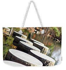 Maymont Stepping Stones Weekender Tote Bag