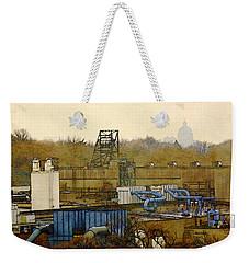 Maynard Steel Weekender Tote Bag