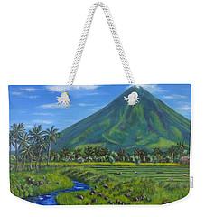 Mayon Volcano Weekender Tote Bag