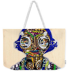 Weekender Tote Bag featuring the tapestry - textile Maz Kanata Star Wars Awakens Afrofuturist Colection by Apanaki Temitayo M