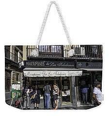 Weekender Tote Bag featuring the photograph Mazapane People - Seville - Spain by Madeline Ellis