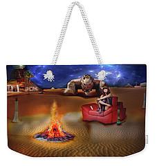 Mazzy Stars Weekender Tote Bag by Michael Cleere