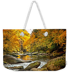 Weekender Tote Bag featuring the photograph Mcconnell's Mill State Park by Skip Tribby