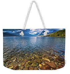 Mcdonald Lake Colors Weekender Tote Bag