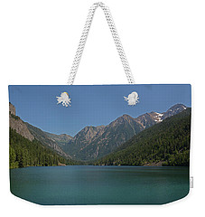 Mcdonald Lake- Ronan Montana Weekender Tote Bag