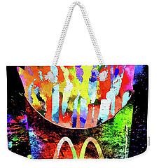 Mcdonald's French Fries Grunge Weekender Tote Bag