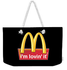 Mc Donalds T-shirt Weekender Tote Bag