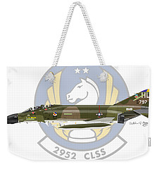 Mcdonnell Douglas F-4d Phantom II Hill Weekender Tote Bag