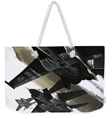 Mcdonnell Douglas F15 Eagle Jet Fighter Weekender Tote Bag