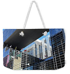 Weekender Tote Bag featuring the photograph Mcgee Building  Ottawa by John Schneider
