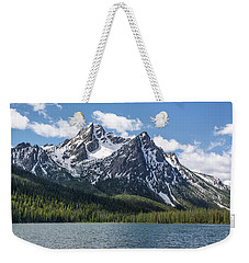 Weekender Tote Bag featuring the photograph Mcgown Peak by Aaron Spong