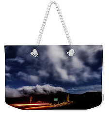 Weekender Tote Bag featuring the photograph Mckenzie Pass by Cat Connor