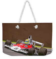 Mclaren M23 Weekender Tote Bag by Wally Hampton