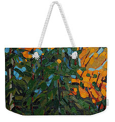 Mcmichael Forest Wall Weekender Tote Bag