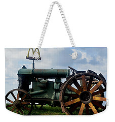 Mctractor Weekender Tote Bag by Gary Smith