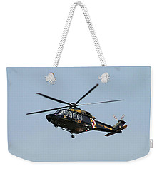 Md State Police Helicopter Weekender Tote Bag