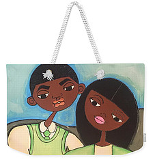 Me And My Boo Weekender Tote Bag