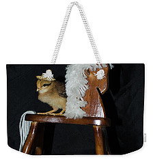 Me And My Rocking Horse Weekender Tote Bag by Donna Brown