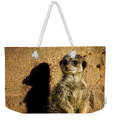 Me And My Shadow Weekender Tote Bag by Martin Newman