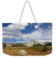 John Muir Trail High Sierra Camp Meadow Weekender Tote Bag