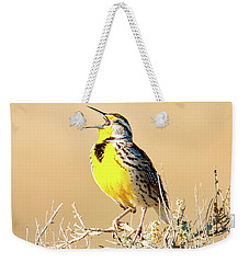 Meadow Lark Weekender Tote Bag