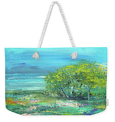 Meadow Trees Weekender Tote Bag