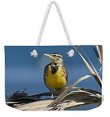 Meadowlark Beauty Weekender Tote Bag