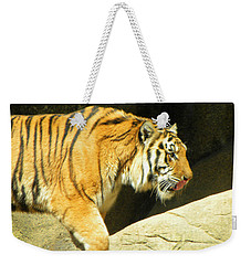 Weekender Tote Bag featuring the photograph Meal Time by Sandi OReilly