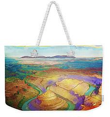 Meander Canyon Weekender Tote Bag