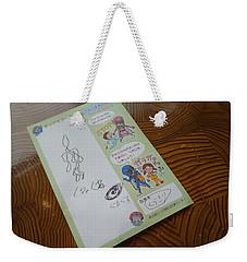 Meandering Weekender Tote Bag