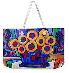 Medicinal Marigolds Weekender Tote Bag