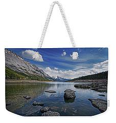 Medicine Lake, Jasper Weekender Tote Bag