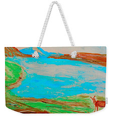 Medicine Lake Weekender Tote Bag