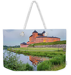 Medieval Castle Weekender Tote Bag by Teemu Tretjakov