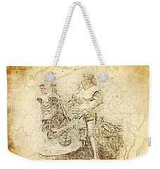 Medieval Europe Weekender Tote Bag